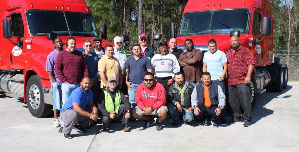 Pinch offers a Family Environment for Truck Driver