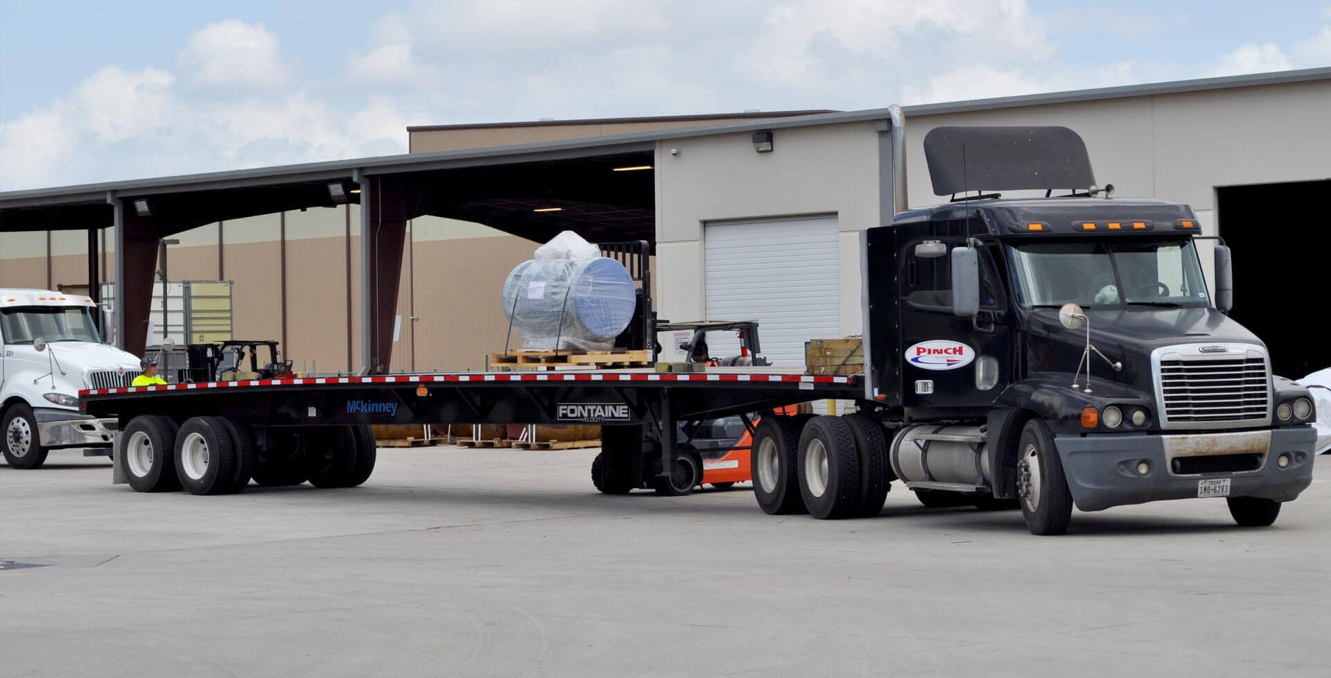 Pinch Truck Flatbed